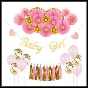 🆕️💝Girl's Baby Shower/Birthday Decorations💝🆕️